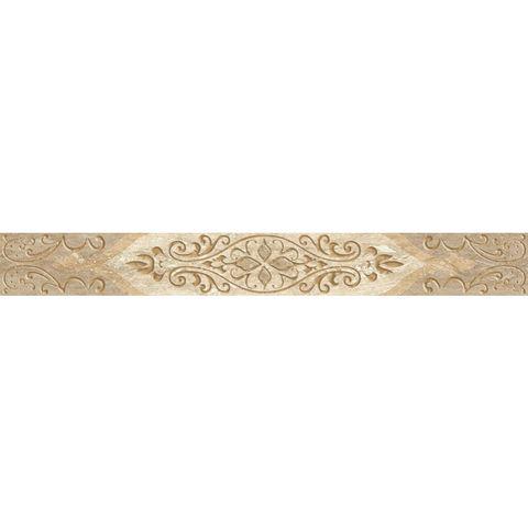 Бордюр Ascoli Beige Classico (7,5x63см) светло-серый (шт.)