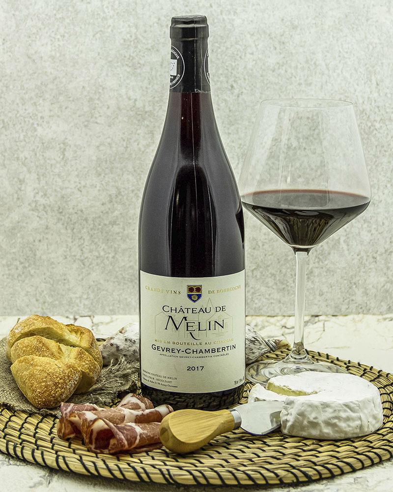 Вино Chateau De Melin Шато де Мелан Жевре Шамбертен Красное Сухое 2017 г.у. 13% 0,75 л.