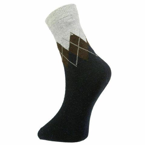 Мужские носки темно-синие ROMEO ROSSI с шерстью 8045-9