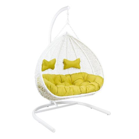 Кресло подвесное для двоих GEMINI White