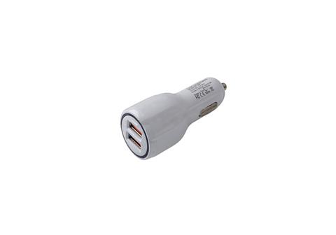 Автомобильное зарядное устройство USB AVS 2 порта UC-123 Quick Charge (2,4А)