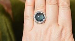 Аполлон (кольцо + серьги из серебра)