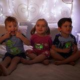 Светящаяся пижама для девочки