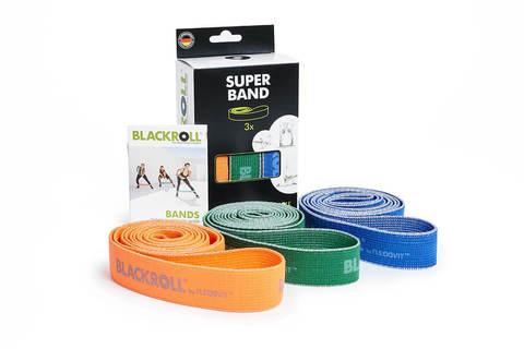 Набор текстильных эспандер-лент BLACKROLL® SUPER BAND 104 см (3 шт.)