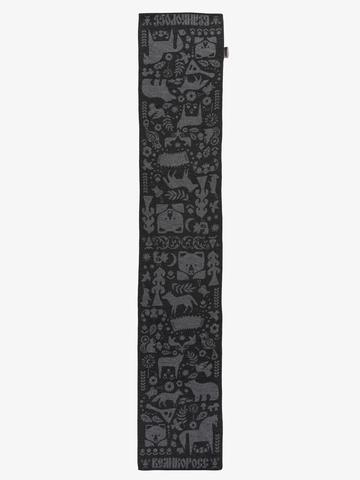 Dark Night - gray tones No. 2.3 (No fringe)