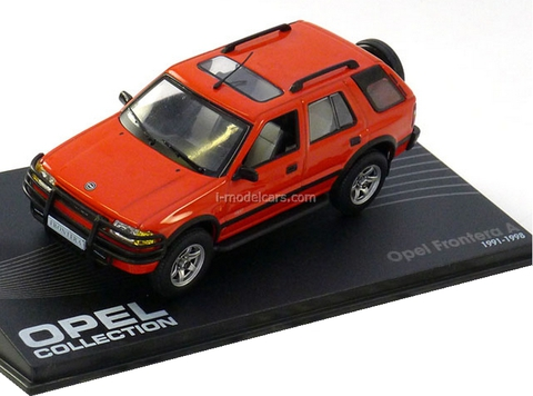 Opel Frontera A 1991-1998 red Altaya 1:43
