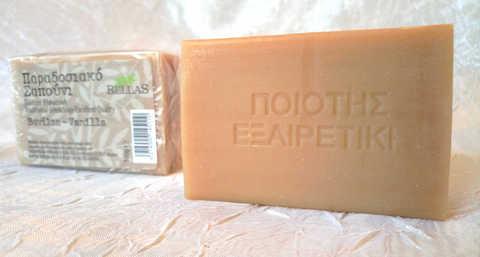 Натуральное оливковое мыло с ванилью