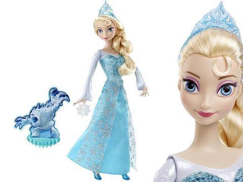 Кукла Эльза Холодное Сердце в наборе с 3 снежинками
