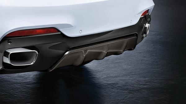Карбоновый диффузор  для BMW X6 F16