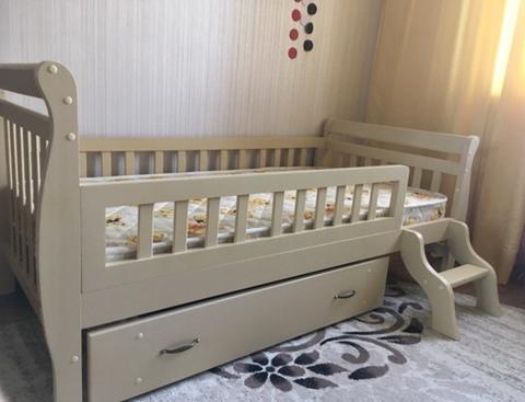 Детская кровать Машенька-3