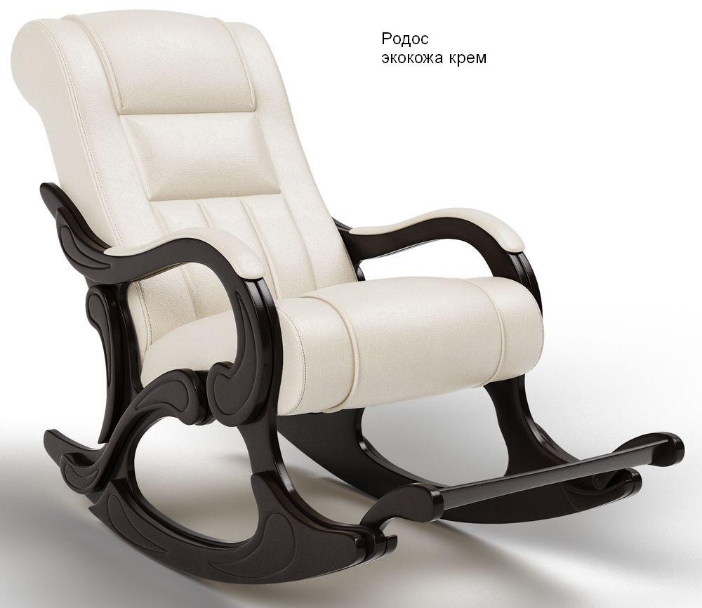 Кресла качалки Кресло-качалка Родос Экокожа родос_крем.jpg