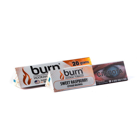 Табак Burn Sweet Raspberry (Свит Расбэри) 20 г