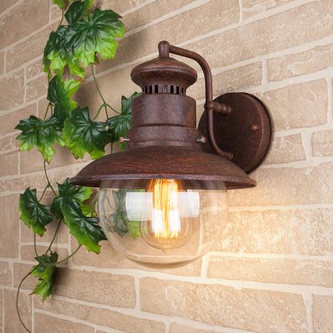 Talli D GL брауни уличный настенный светильник GL 3002D