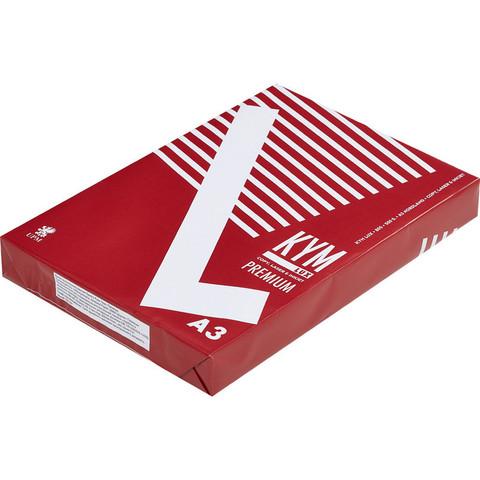 Бумага для офисной техники KYM Lux Premium (А3, марка A, 80 г/кв.м, 500 листов)