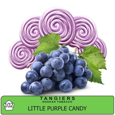 Табак Tangiers Little Purple Candy T102 (Танжирс Маленькая Фиолетовая Конфета)  Birquq 20г