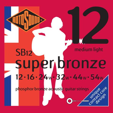 ROTOSOUND SB12 STRINGS PHOSPHOR BRONZE Струны для акустической гитары