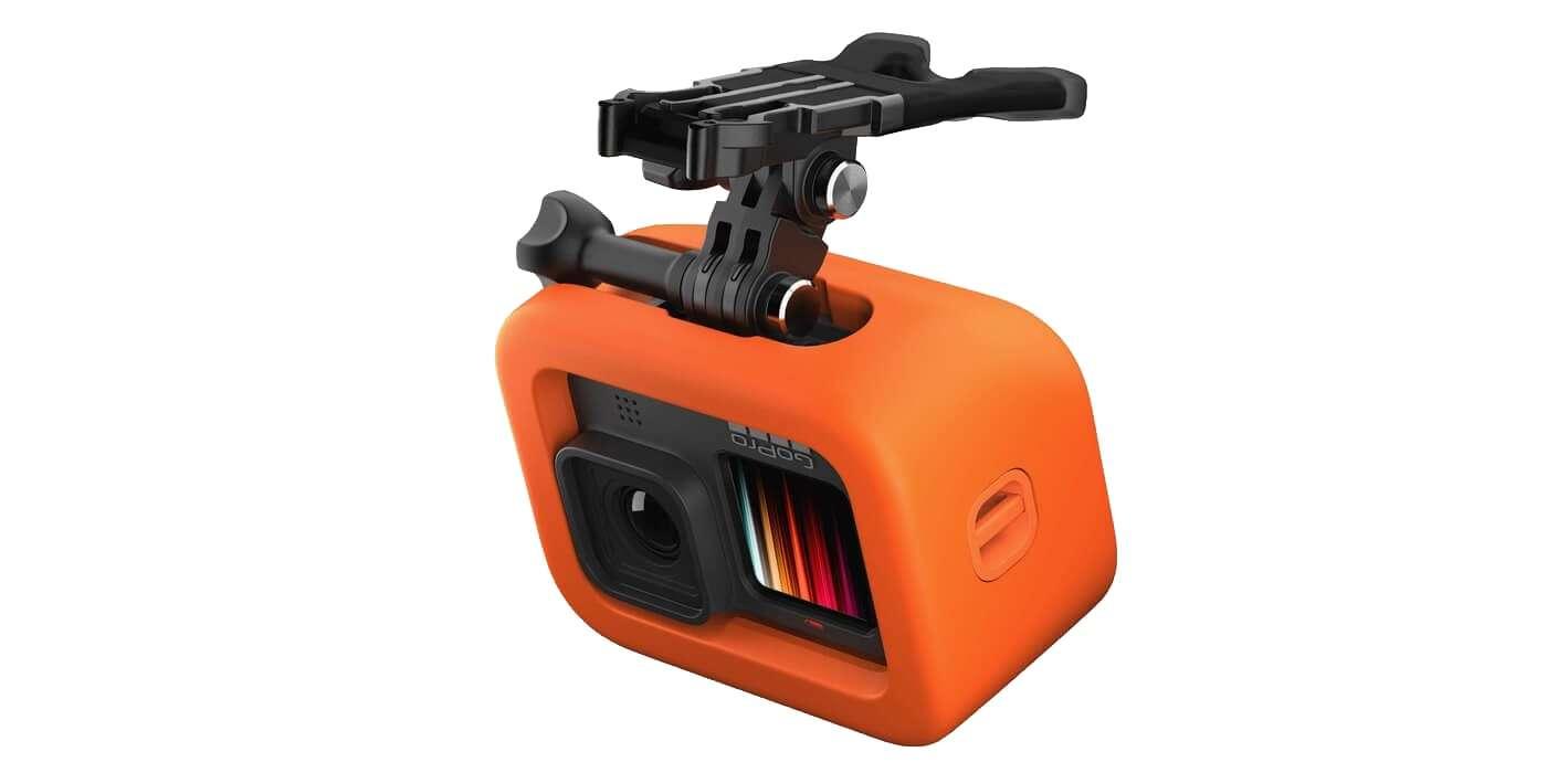 Крепление-капа с поплавком для GoPro HERO9 Bite Mount Floaty