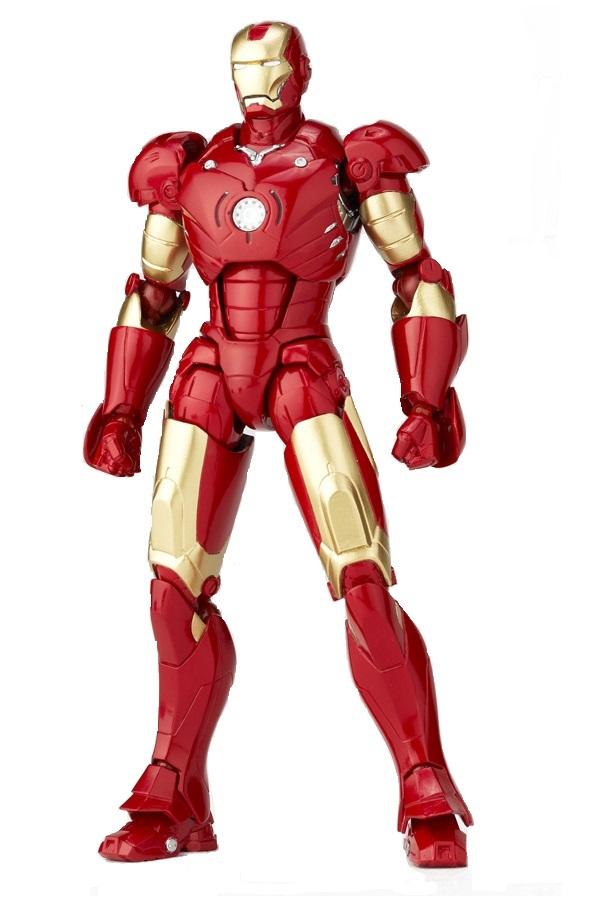 Железный Человек фигурка Марк 3 Sci-Fi Revoltech №036