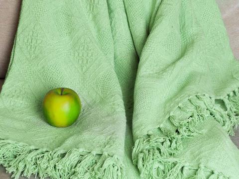 Покрывало хлопок Сицилия светло-зеленый