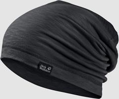 Шапка-бини Jack Wolfskin Travel Beanie black (55-59см)