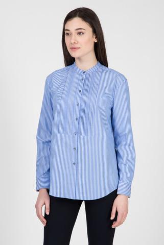 Женская голубая рубашка в полоску LULU Tommy Hilfiger