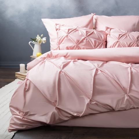 Комплект постельного белья сатин Монселла розовый