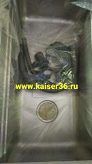 Кухонная мойка врезная из нержавеющей стали Kaiser KSM-7848 780x480x220 6
