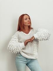 Мастер класс пуловер