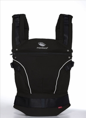 Слинг-рюкзак manduca PureCotton night black (черный)