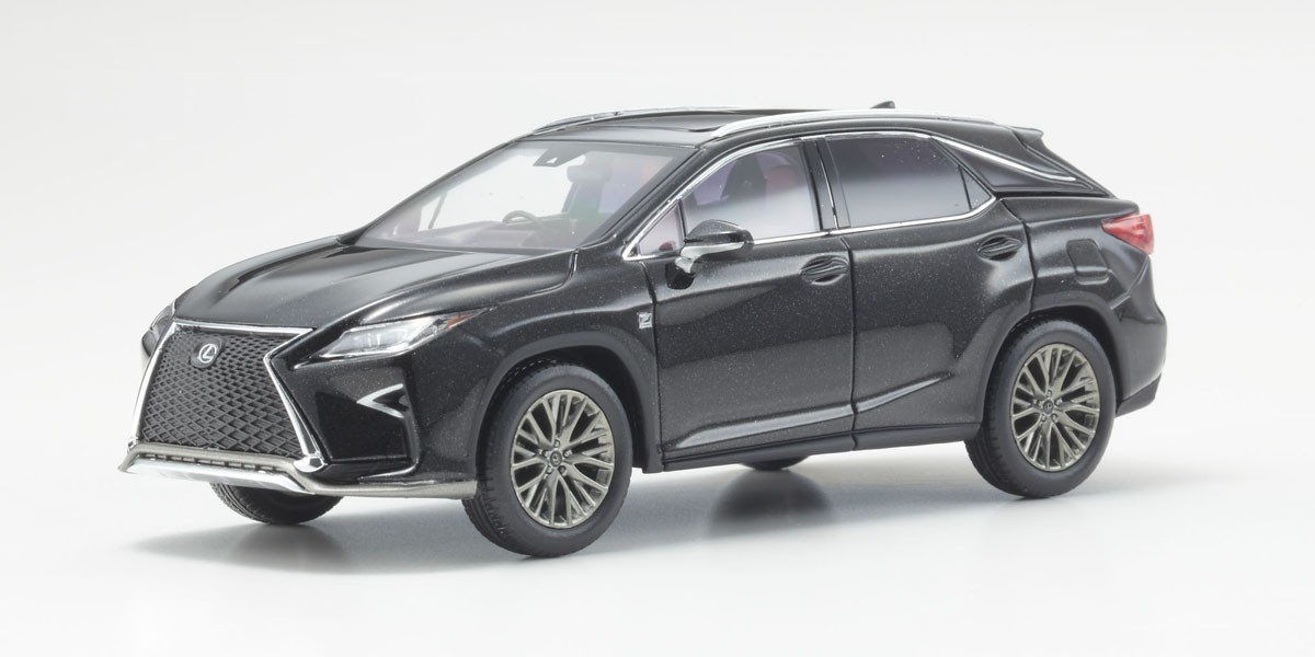 Коллекционная модель Lexus RX200t F Sport graphite black
