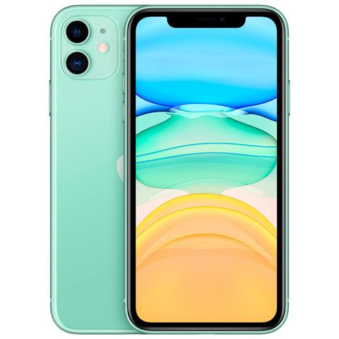 iPhone 11, 64 ГБ, зеленый