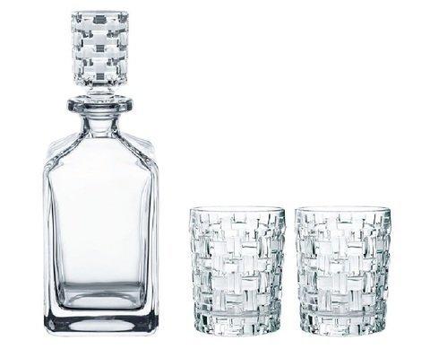 BOSSA NOVA - Набор для виски 3 предмета декантер 750 мл + 2 стакана 330 мл