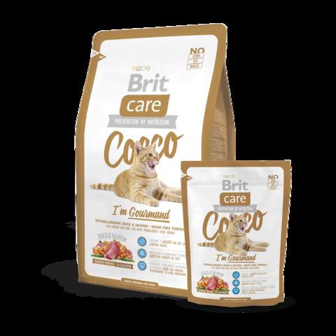 Brit Care Cocco Gourmand Сухой корм для кошек-гурманов беззерновой