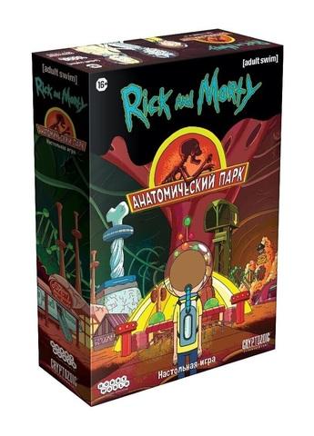 Настольная игра Рик и Морти: Анатомический парк