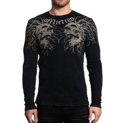 Пуловер Affliction DARK ROOTS L/S THERMAL