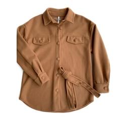 Рубашка на пуговицах (Карамель)