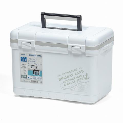 Термобокс SHINWA Holiday Land Cooler 11H белый  /9