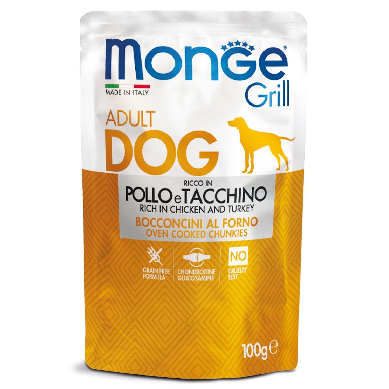 Monge Паучи для собак Monge Dog Grill курица с индейкой 70013116_1.jpeg