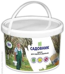 """Краска акриловая для садовых деревьев """"Садовник"""" (3 кг)"""
