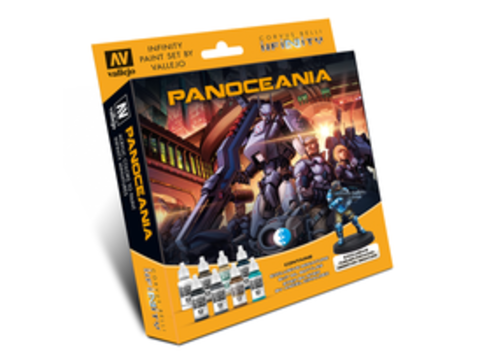 Набор красок Vallejo: Infinity Panoceania Exclusive Miniature