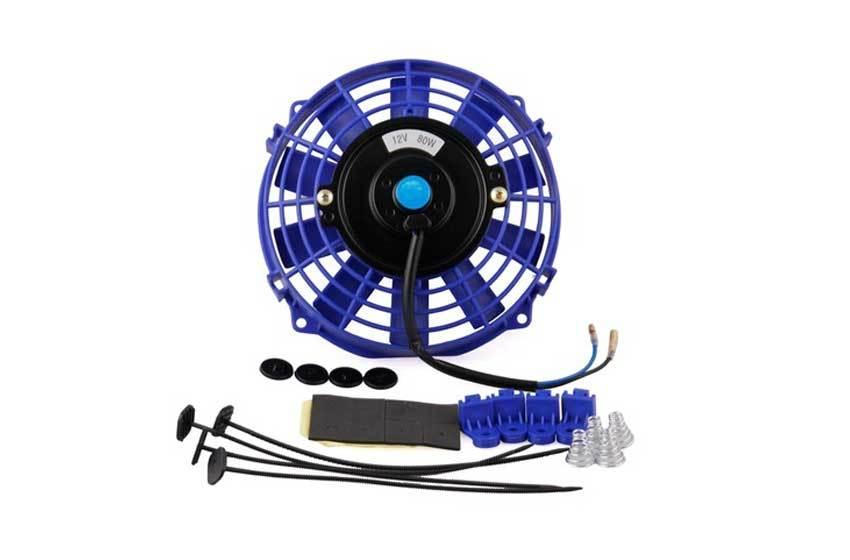 Вентилятор охлаждения АКПП Синего цвета