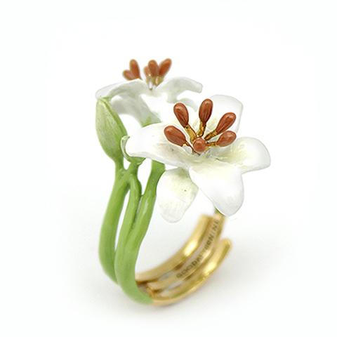 Кольцо Лилия