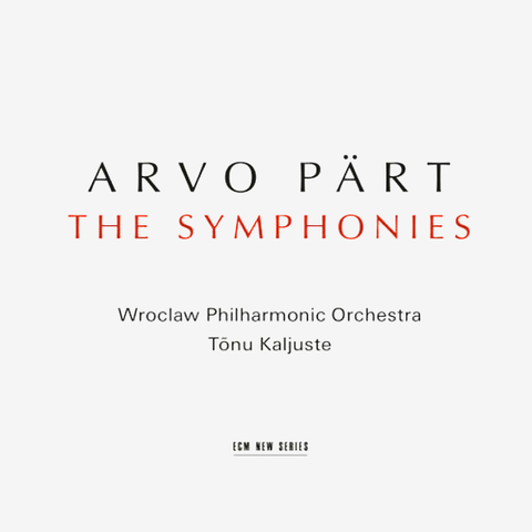 Arvo Part / The Symphonies (CD)