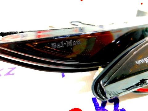 Указатели поворотов в зеркало бегущие тонированные Лада Веста в стиле LEXUS