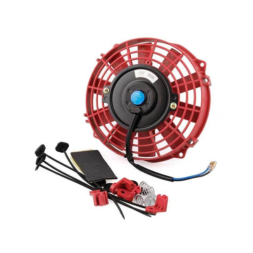 Вентилятор охлаждения АКПП красного цвета