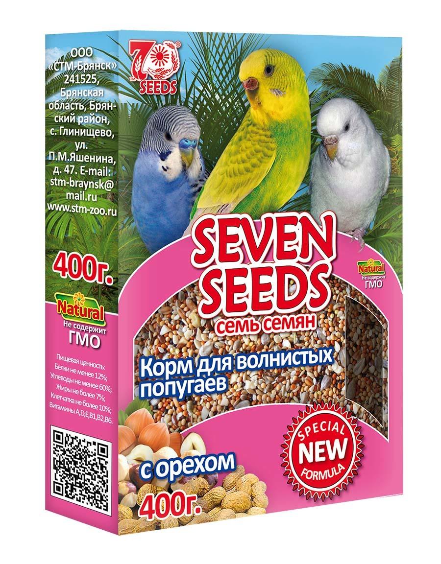 Корм Корм для волнистых попугаев с орехом Seven Seeds Special 45.jpg