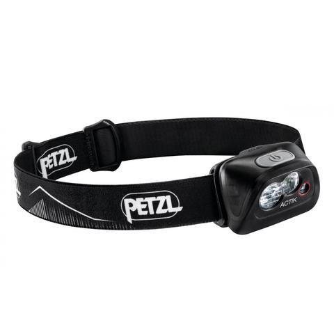 Фонарь светодиодный налобный Petzl Actik черный, 350 лм
