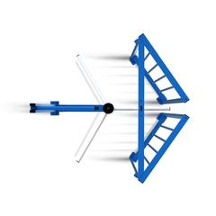 RTD-16.2 Полноростовый роторный турникет PERCo