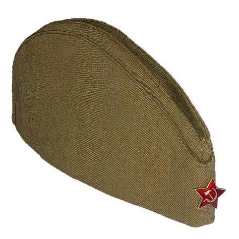 Товары для мужчин Пилотка военная / солдатская со звездой pilotka-voennaya.jpg