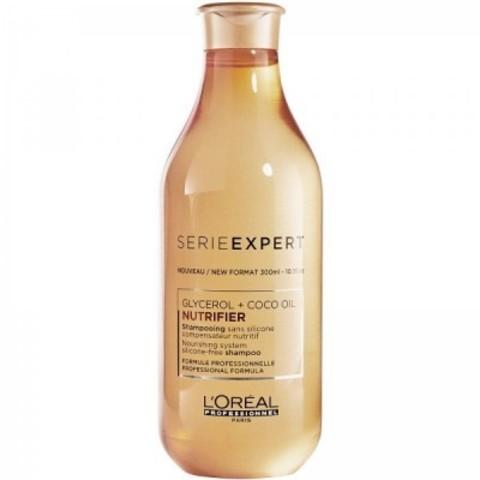 L'Oreal Professionnel Nutrifier: Питательный шампунь для сухих волос (Shampoo), 300мл/1.5л